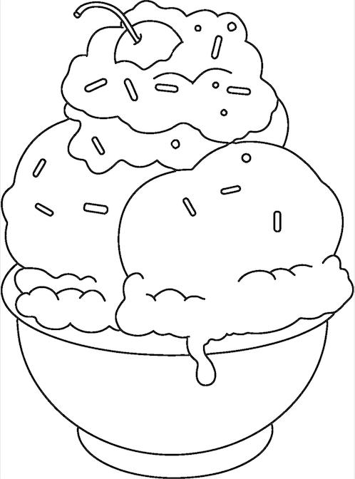 picture of ice cream sundae