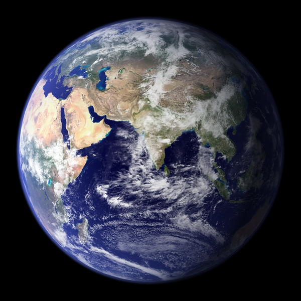 Blue Marble: Earth Eastern Hemisphere