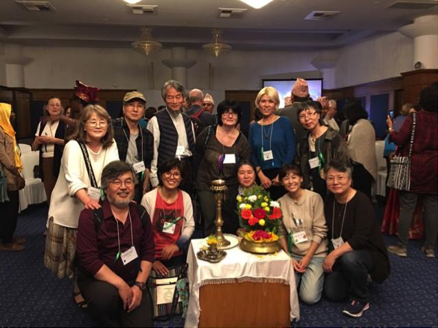 Group Photo of AVP Members in Korea